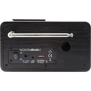 mobiles DAB+ Radio mit Farbdisplay NOXON 16100