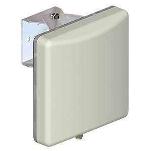 Richt-Antenne, WLAN, 2,4 / 5,8 GHz, weiß PANORAMA ANTENNAS W24-58-CP-9