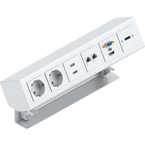 PanConnect Tischanschlussfeld MINI6 PANCONNECT PC-MI6S-S-S-SET-DE