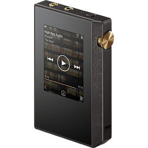 HiRes-Audioplayer, MP3-Player, schwarz PIONEER HRP-305(BB)