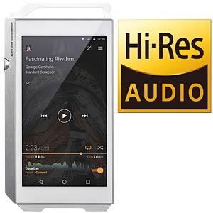 Portable high-resolution digital audio player, silver PIONEER XDP-100R-S