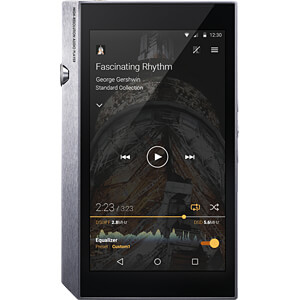 HiRes-Audioplayer, MP3-Player, silber PIONEER XDP-300R-S