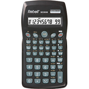 REBELL SC2030 - Wissenschaftlicher Taschenrechner