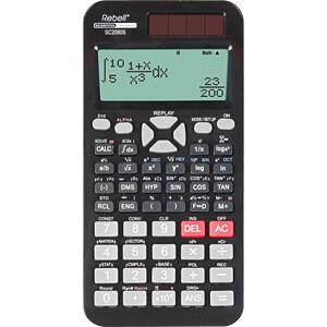 REBELL SC2080S - Wissenschaftlicher Taschenrechner