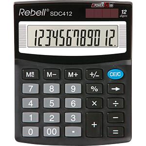 REBELL SDC412 - Taschenrechner