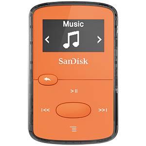 MP3-Player, Clip JAM, 8GB, orange SANDISK SDMX26-008G-G46O