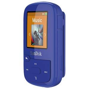 MP3-Player Clip Sport Plus, 16GB, blau SANDISK SDMX28-016G-G46B