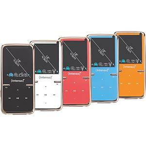 MP3 Player 8GB, orange INTENSO 3717465
