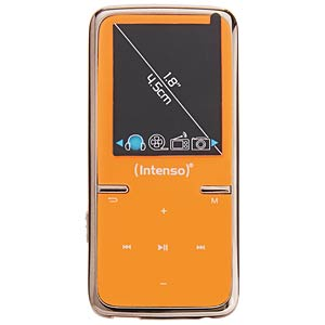 8-GB MP3 player, orange INTENSO 3717465