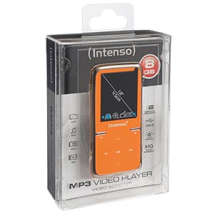 MP3-Player, 8GB, orange INTENSO 3717465