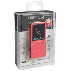 MP3 Player 8GB, pink INTENSO 3717463