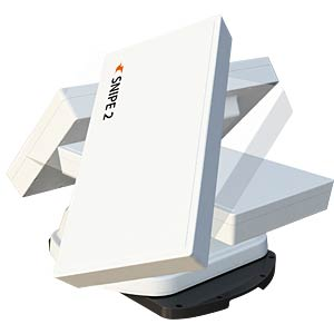 Automatic Flat Satellite Antenna, Twin-LNB SELFSAT SNIPE 2 TWIN