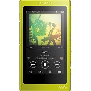 WALKMAN® with High-Resolution Audio SONY NWA35Y.CEW