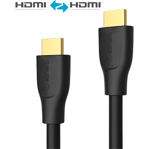 Premium High Speed HDMI Kabel mit Ethernet, 1,5 m SONERO X-PHC010-015
