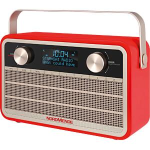 DAB+/UKW Radio, rot NORDMENDE 78-3001-00
