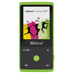 "MP3-Player, grün, 1,8"" Display, Bluetooth TREKSTOR 79624"