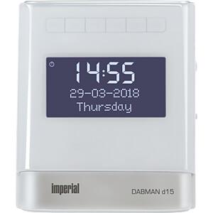 DABMAN D15WS - kompakter DAB+/UKW Radiowecker
