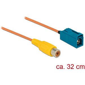 DELOCK 89652 - HF FAKRA Z Buchse > Cinch Buchse RG-179 32 cm