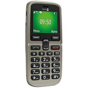 GSM mobiele telefoon, champagne DORO 380426