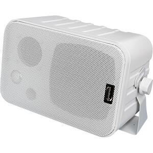 Mini-Box 3-Wege mit Halterung, weiß, Paar DYNAVOX 202996
