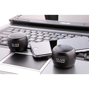 Mini Bluetooth® speaker, black ELARI ELNB1BLK
