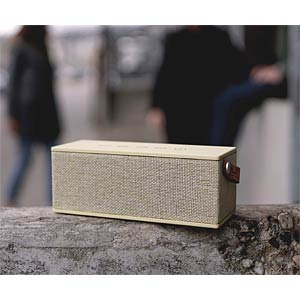 Rockbox Brick Fabriq Buttercap FRESH 'N REBEL 1RB3000BC