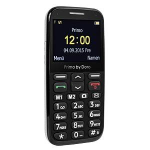Mobiltelefon, große Tasten, schwarz DORO 360080