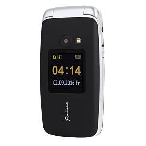 Mobiltelefon, Klapphandy, mit Notruftaste, schwarz DORO 360022