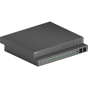 PureTools - Power Manager 1U - 12-port, 90W variable DC PSU PURELINK PT-PSU12