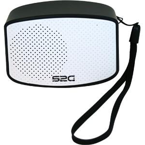 Bluetooth Lautsprecher schwarz/weiß SOUND2GO 10100