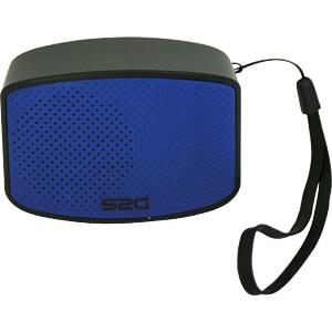 Bluetooth Lautsprecher schwarz/blau SOUND2GO 10101