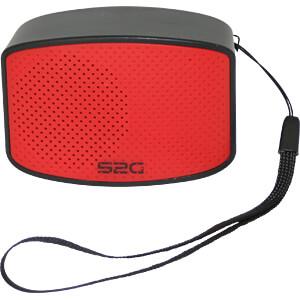 Bluetooth Lautsprecher schwarz/rot SOUND2GO 10102