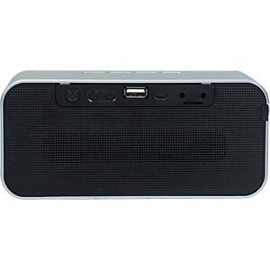 Bluetooth Lautsprecher silber/schwarz SOUND2GO 10118