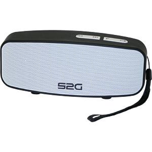 Bluetooth Lautsprecher schwarz/weiß SOUND2GO 10128