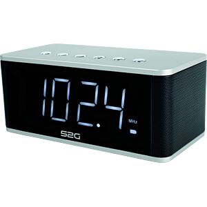 Bluetooth Lautsprecher silber/schwarz SOUND2GO 10131