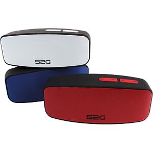 Bluetooth Lautsprecher schwarz/blau SOUND2GO 10129