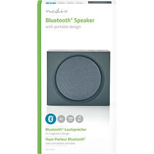 Bluetooth®-Lautsprecher, 9 W, grau NEDIS SPBT2000GY