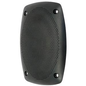 Schutzgitter aus schwarzem Kunststoff VISATON 4745