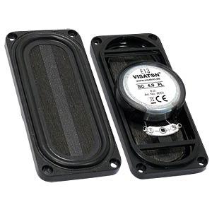 Breitbandlautsprecher SC 4.9FL, 4 W, 8 Ohm VISATON 8051
