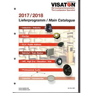 VIS PROGRAMM - VISATON Gesamtprogramm