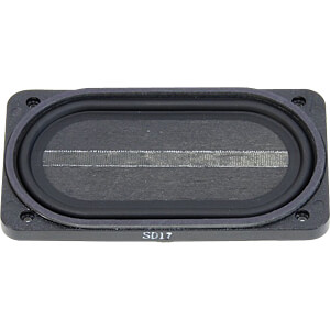 Breitbandlautsprecher SC 5.9FLX, 4 W, 8 Ohm VISATON 8053
