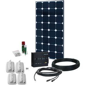 Phaesun Fahrzeug-Solar-Komplettkit, 100W PHAESUN 600026