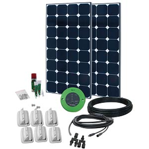 Phaesun Fahrzeug-Solar-Komplettkit, 200W PHAESUN 600027