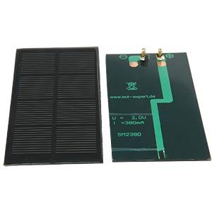 Vergossene Solarzelle, 2 V, 380 mA SOL-EXPERT SM2380