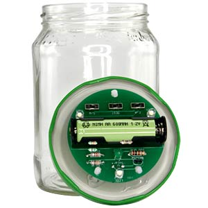 Mason jar solar lamp kit SOL-EXPERT 78889