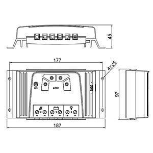 Solarladeregler, 40 A STECA SOLSUM 4040