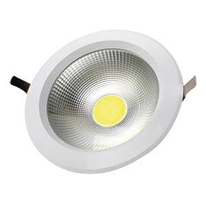 LED-COB-Einbaustrahler, 30 W, rund, kaltweiß, 120 lm/W V-TAC 1278
