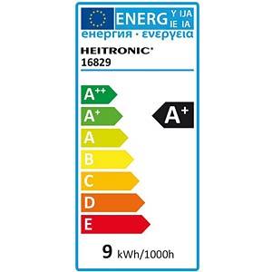 LED-Lampe E27, 9 W, 806 lm, 2700 K, dimmbar HEITRONIC 16829