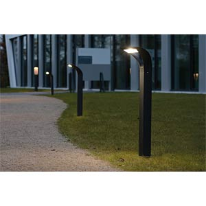 LED-Wegeleuchte, Aluguss, anthrazit, EEK A++ - A ECO LIGHT 2522 S-800 GR