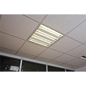 LED-Raster Einbauleuchte, EEK A+ HEITRONIC 26350